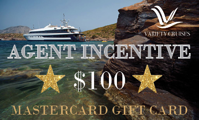 Variety Cruises Agent Incentive