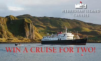 WIN a Hebridean Princess Cruise for Two in 2020!