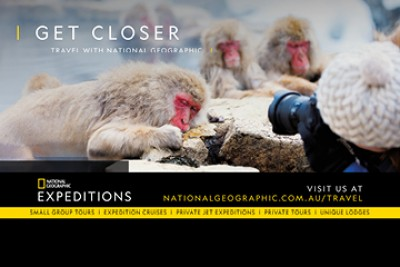 Nat Geo Expeditions Launches in Aus & NZ!