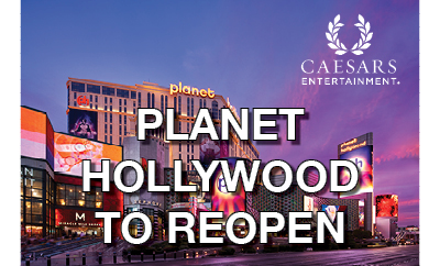 Planet Hollywood Resort & Casino to Reopen 8th October 2020